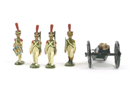 Dorset Tradition Napoleonic Infantry Artillery 1807