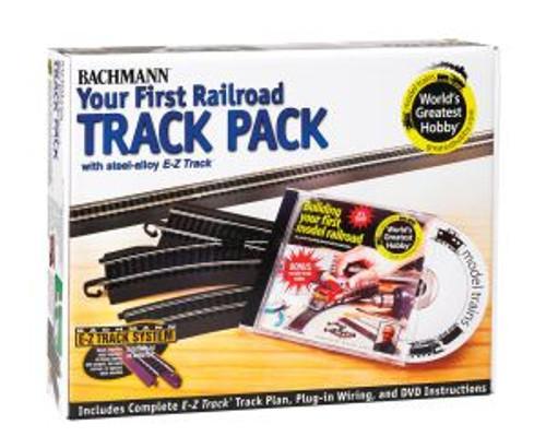 Bachmann Trains 44497 HO Scale EZ Track Steel WGH Track Pack