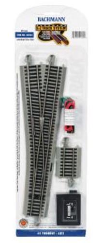 Bachmann Trains 44565 HO Scale EZ Track NS #5 LH Switch/1cd
