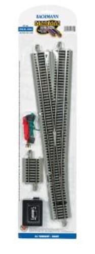 Bachmann Trains 44560 HO Scale EZ Track NS #6 RH Switch/1cd