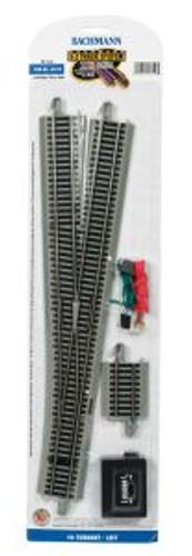 Bachmann Trains 44559 HO Scale EZ Track NS #6 LH Switch/1cd