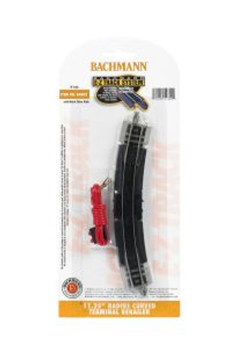 Bachmann Trains 44802 N Scale EZ Track 11R Term.Rerailer/1cd