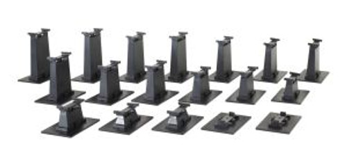 Bachmann Trains 44595 HO Scale EZ Track Graduated Piers/18pc