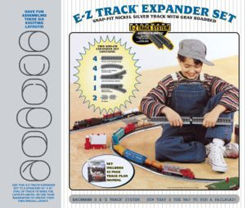 Bachmann 44594 HO Scale EZ Track NS Layout Expander Set