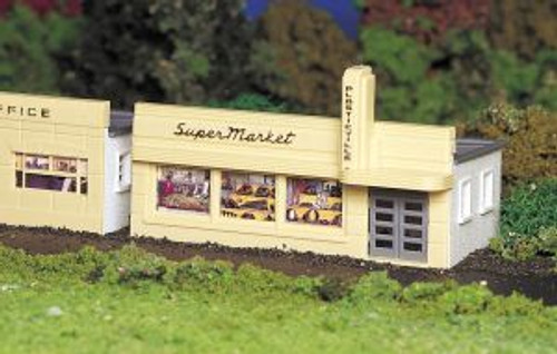 Bachmann Trains 45141 HO Scale Building Supermarket