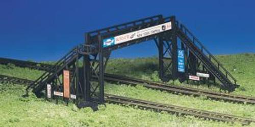 Bachmann Trains 45172 HO Scale Building Pedestrian Bridge