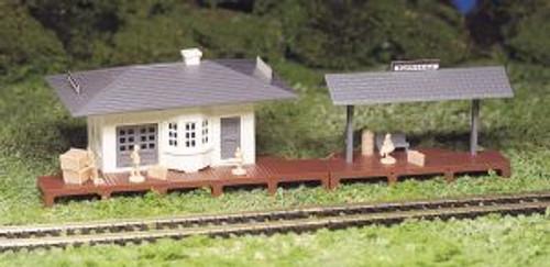 Bachmann Trains 45173 HO Scale Building Suburban Station