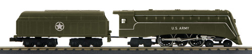 MTH 30-1739-1 US Army 4-6-4 Commodore Hudson Steam Locomotive 3.0 O Gauge