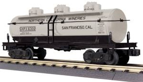 MTH Trains 30-73501 O Gauge California Wine 3-Dome Tank Car