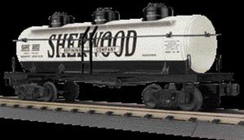 MTH Trains 30-73422 O Gauge Sherwood Refining 3-Dome Tank Car