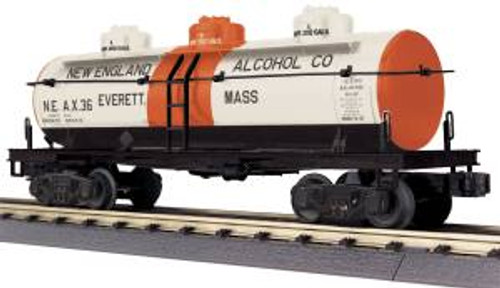MTH 30-73503 O Gauge New England Alcohol 3-Dome Tank Car