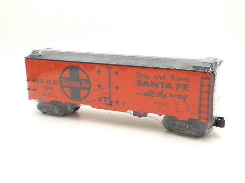 K-Line Electric Trains K-7606 Santa Fe Steel Sided Reefer