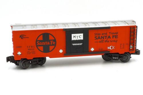 K-Line Electric Trains K-90010 Santa Fe Steel Classic Reefer Car 0/027 Gauge