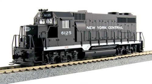 Kato HO Trains 373023 GP35 New York Central Phase la Diesel #6125
