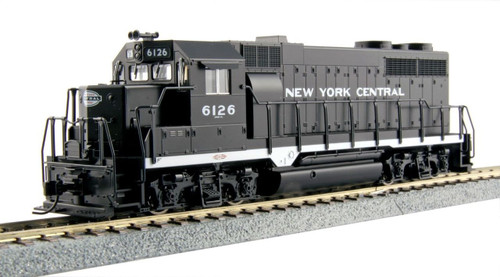 Kato HO Trains 373024 GP35 New York Central Phase la Diesel #6126