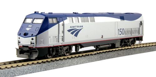 Kato HO Trains 376109-LS GE P42 Genesis, Amtrak Phase Vb #150