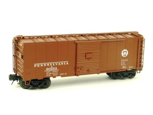 Atlas O Trainman 0502-2 Pennsylvania 40' Plug Door Box Car 3 Rail