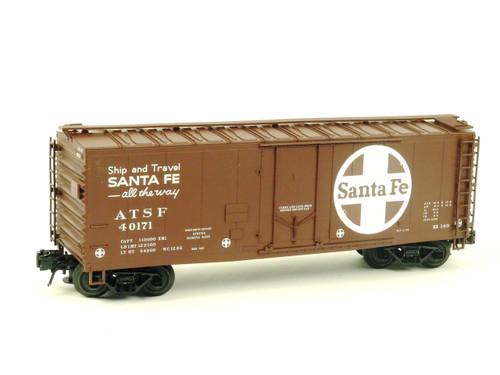 Atlas O Trainman 0529-2 Santa Fe 40' Plug Door Box Car 3 Rail