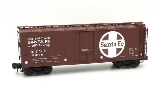 Atlas O Trainman 0529-1 Santa Fe 40' Plug Door Box Car 3 Rail