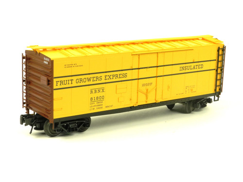 Atlas O Trainman 0526-1 Fruit Growers Express 40' Plug Door Box Car 3 Rail