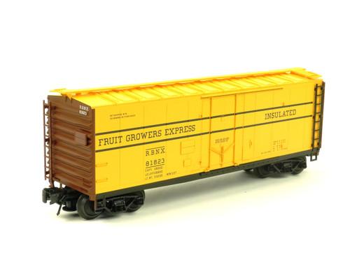 Atlas O Trainman 0526-2 Fruit Growers Express 40' Plug Door Box Car 3 Rail