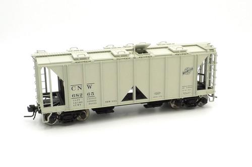 Atlas O Steam Era Classics 9385-1 Chicago & Northwestern ACF 70 Ton Covered Hopper Car 2 Rail