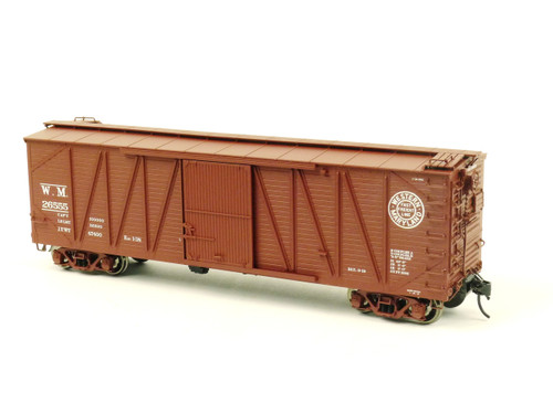 Atlas O Steam Era Classics 3004102-4 Western Maryland USRA Single Sheathed Box Car 2 Rail