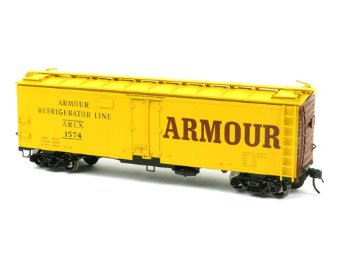 Atlas O Steam Era Classics 9530-1 Armour 40' Steel Reefer 2 Rail