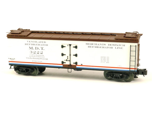 Atlas O Steam Era Classics 8153-4 Merchants Despatch 40' Re-Built Reefer Car 3 Rail