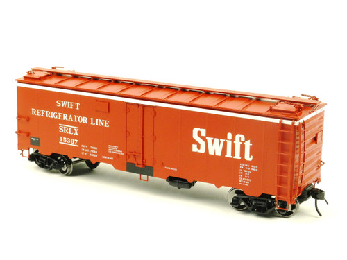 Atlas O Steam Era Classics 9534-1 Swift Refrigerator Car 40' Steel Reefer 2 Rail