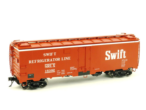Atlas O Steam Era Classics 9534-2 Swift Refrigerator Car 40' Steel Reefer 2 Rail