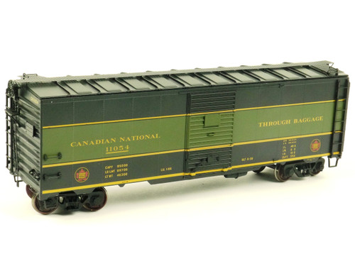 Atlas O Steam Era Classics 9595-1 Canadian National 40' 1937 AAR Single Door Box Car 2 Rail