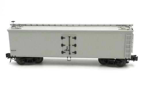 Atlas O Steam Era Classics 6700 Undecorated 40' Woodside Refrigerator Car 3 Rail Rail