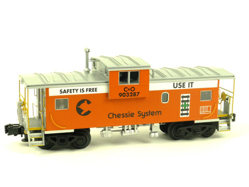 Atlas Big O Rolling Stock 6616 Chessie Safety Extended Vision Caboose 3 Rail