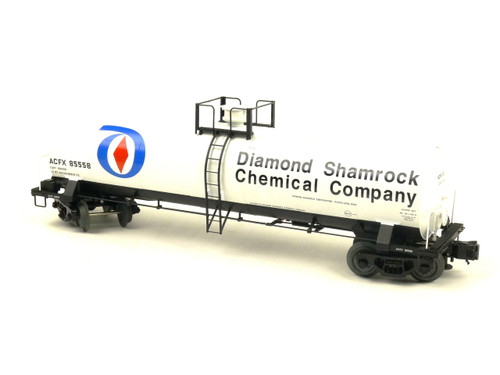 Atlas Big O Rolling Stock 8253-2 Diamond Shamrock 17,360 Gallon Tank Car 3 Rail