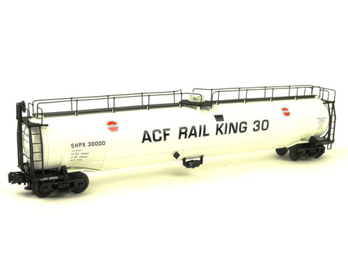 Atlas Big O Rolling Stock 6408-2 ACF Demonstrator #2 33,000 Gallon Tank Car 3 Rail