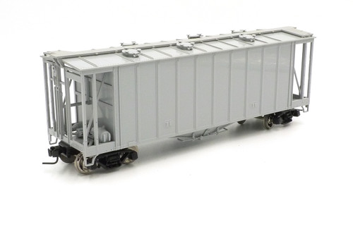 Atlas Big O Rolling Stock 7350 Undecorated 40' Airslide Hopper 2 Rail