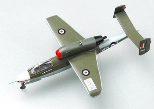 Easy Model German He162 36349 Jet Fighter 1:72 Scale Assembled Model