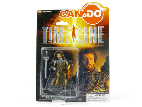 Dragon Models Lord Oliver Action Figure - 2003 Michael Crichton's Timeline Movie Series