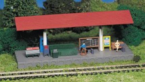 Bachmann Trains 45194 HO Scale Buildings Platform Station