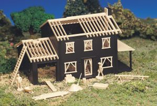 Bachmann 45191 HO Scale Building House Under Construction