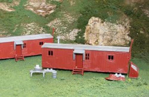 Bachmann Trains 45175 HO Scale Railroad Work Sheds/2pc