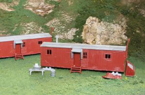 Bachmann Trains 45175 HO Scale Railroad Work Sheds/2pc