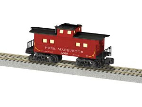 American Flyer Trains 6-44112 Bay-Window Caboose #A909