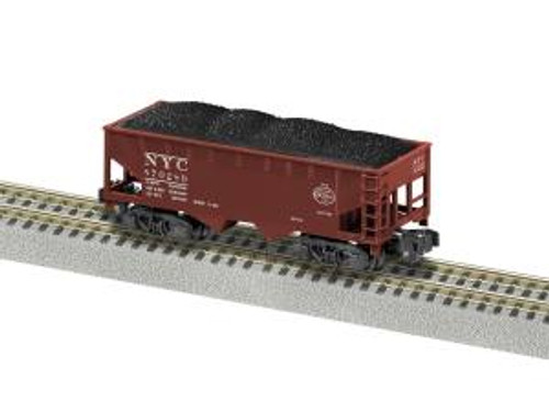 American Flyer Trains 6-44101 S Gauge 2-Bay Hopper NYC #870289