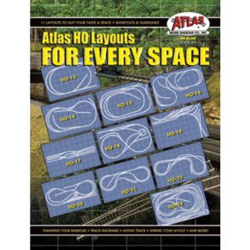 Atlas Trains 11 HO Scale Layouts for Every Space