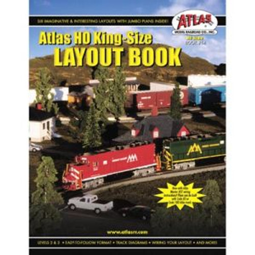 Atlas Trains 14 HO Customline Kingsize Layouts