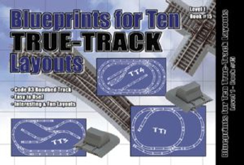 Atlas Trains 14 HO Customline Kingsize Layouts HO Blueprints/10 True-Track Layouts