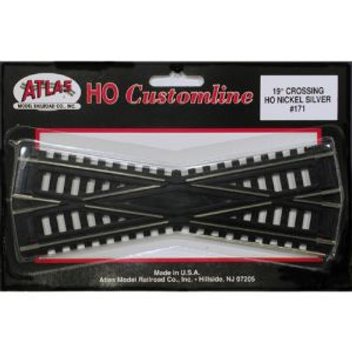 Atlas Trains 171 HO Scale HO Code 100 19* Crossing