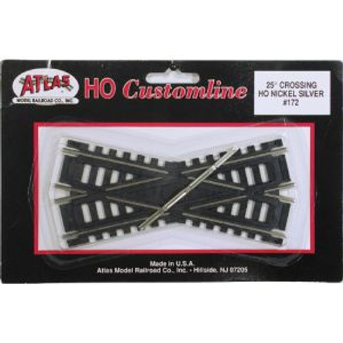 Atlas Trains 172 HO Scale HO Code 100 25* Crossing
